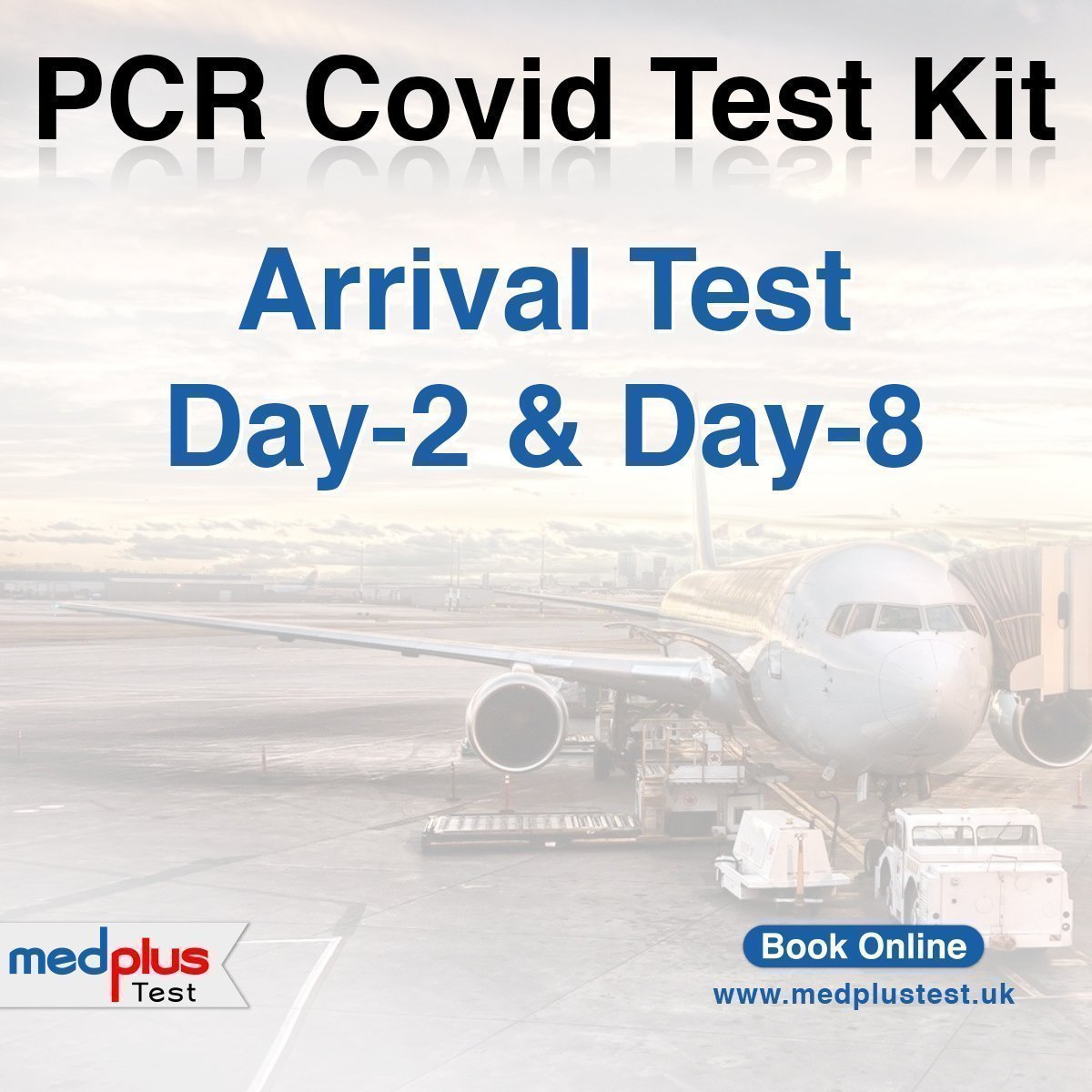 day-2 and 8 covid-19 tests for international travelers